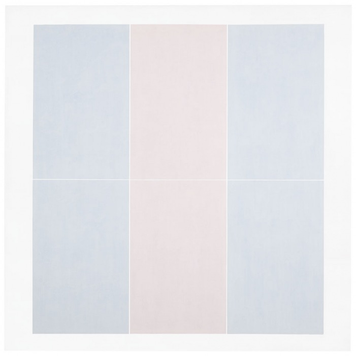 Agnes Martin Untitled #3 1974 Acrylic, graphite and gesso on canvas Des Moines Art Center, Iowa