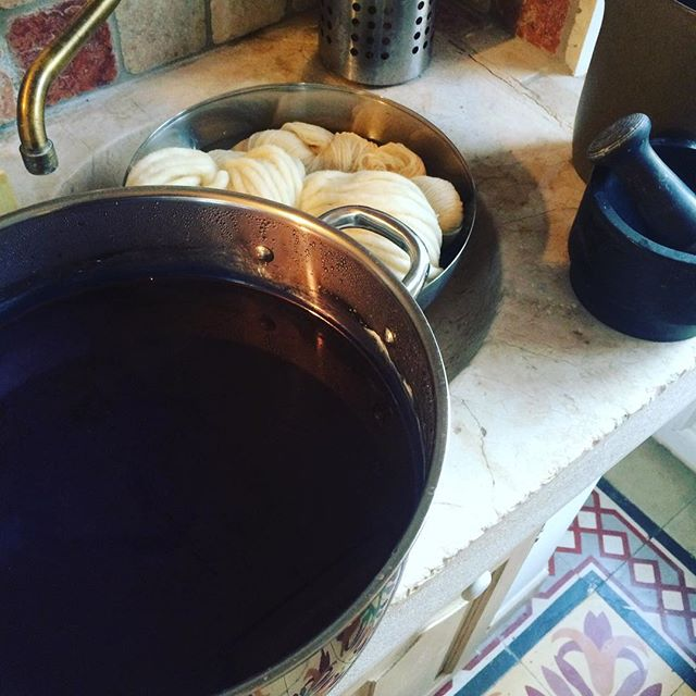 The perfect batch 👌🙏 #indigo #naturaldye #vegetaldye #homemadedye