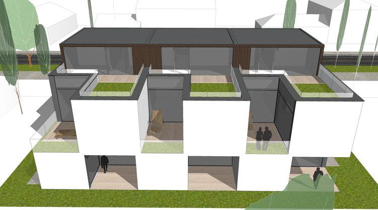 Modern Housing Design In Basel Switzerland 3d Architects Modern