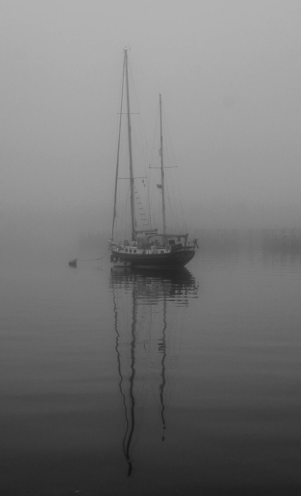 At Anchor, Annapolis Harbor