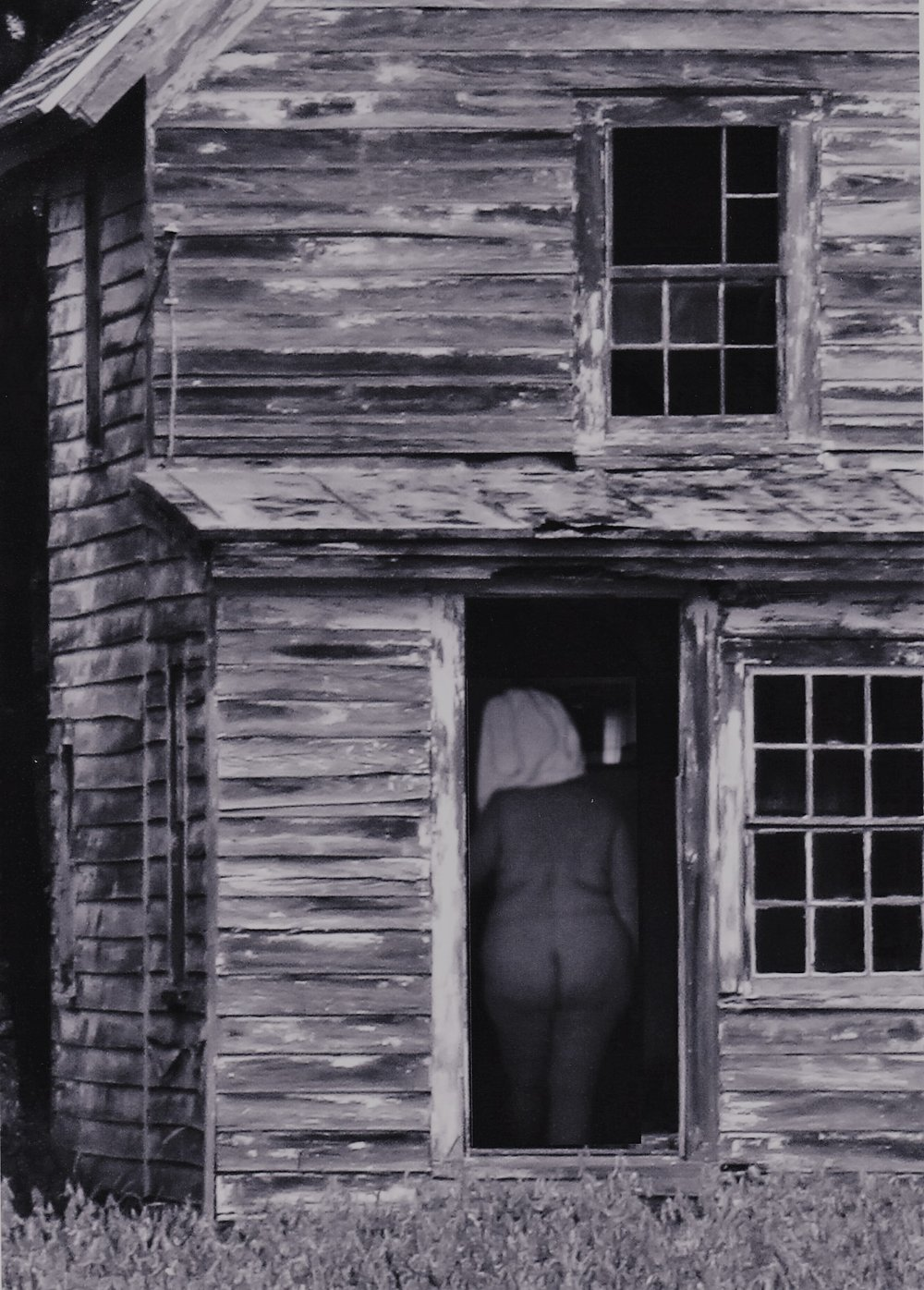 Nude in Doorway, 2016