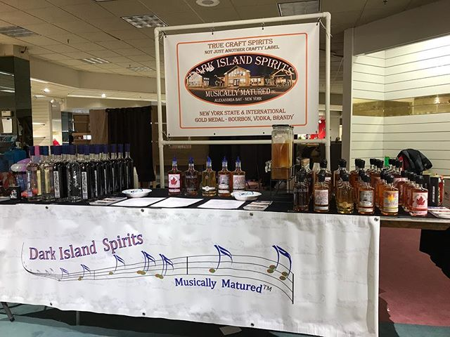 Come see us at Tastes & Talents at Massena mall!  Friday 11am-8pm and Saturday 9am-4pm 🥃👍