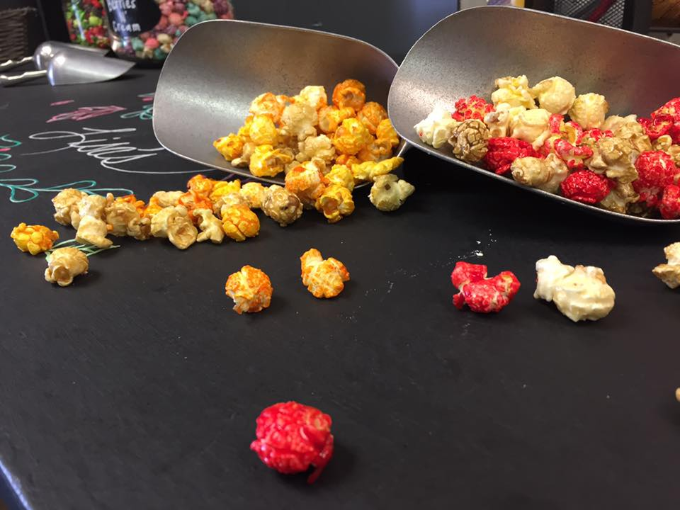 Fall favorites! Left: Pumpkin Spice Right: Cherry Cobbler