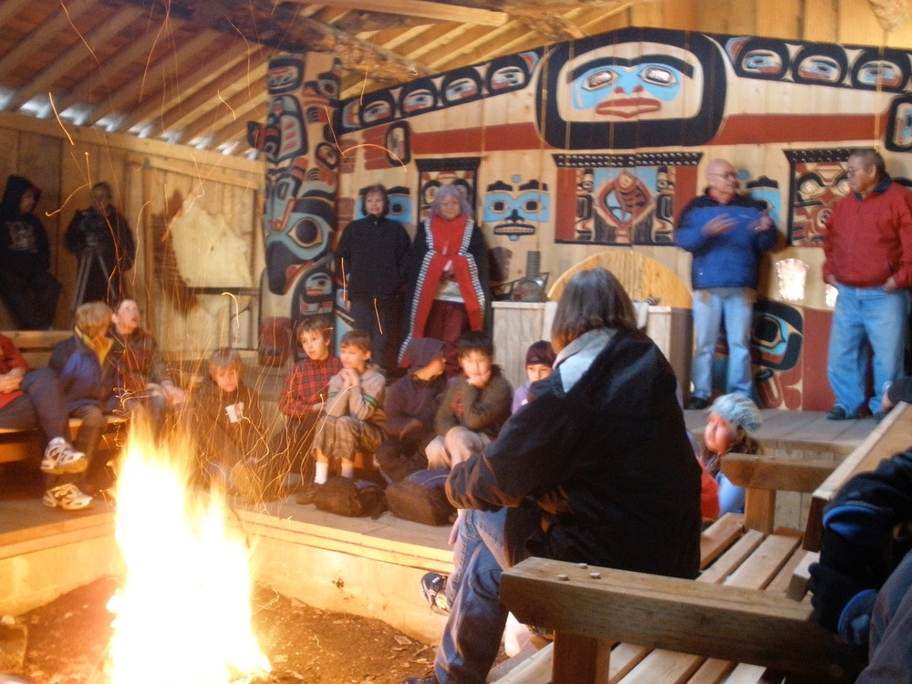 For more information on the newly opened Chilkat Tlingit Heritage Center in Klukwan.  http://jilkaatkwaanheritagecenter.org
