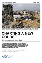 "Report: ""Charting a New Course: Overcoming the Stalemate in Gaza"""