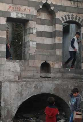 Olld Armenian section, Diyarbakir, Turkey