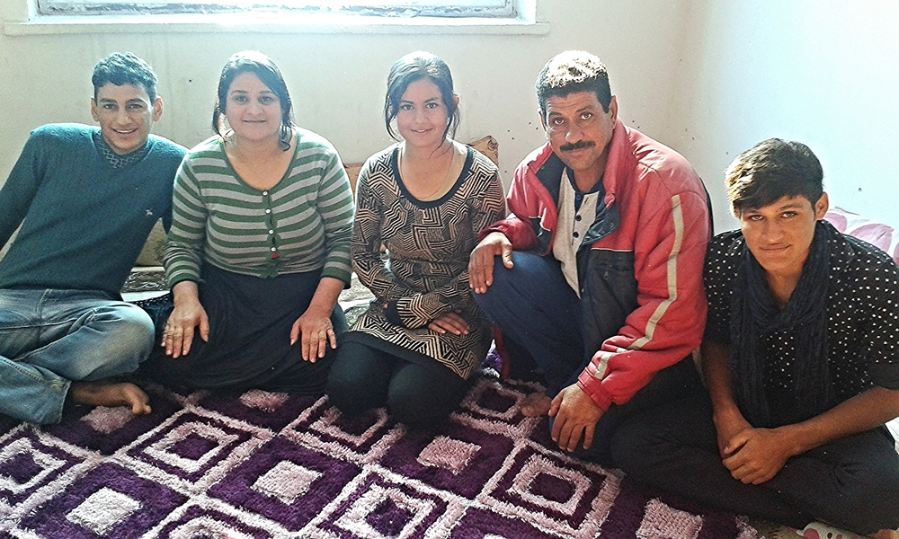The Displaced Iraqi Family