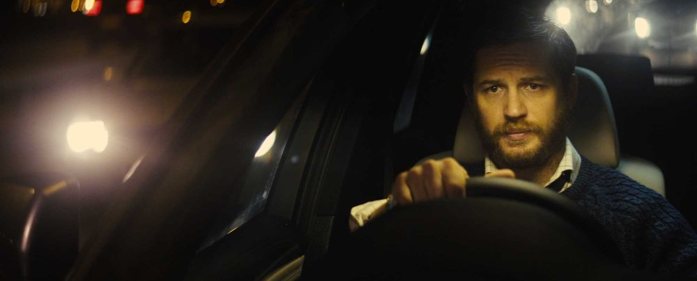 """Locke"" takes place almost entirely inside of a car.  If you can get past the static scenery, this movie bears a compelling message about family, honor, and a man's duty to own up to his mistakes."