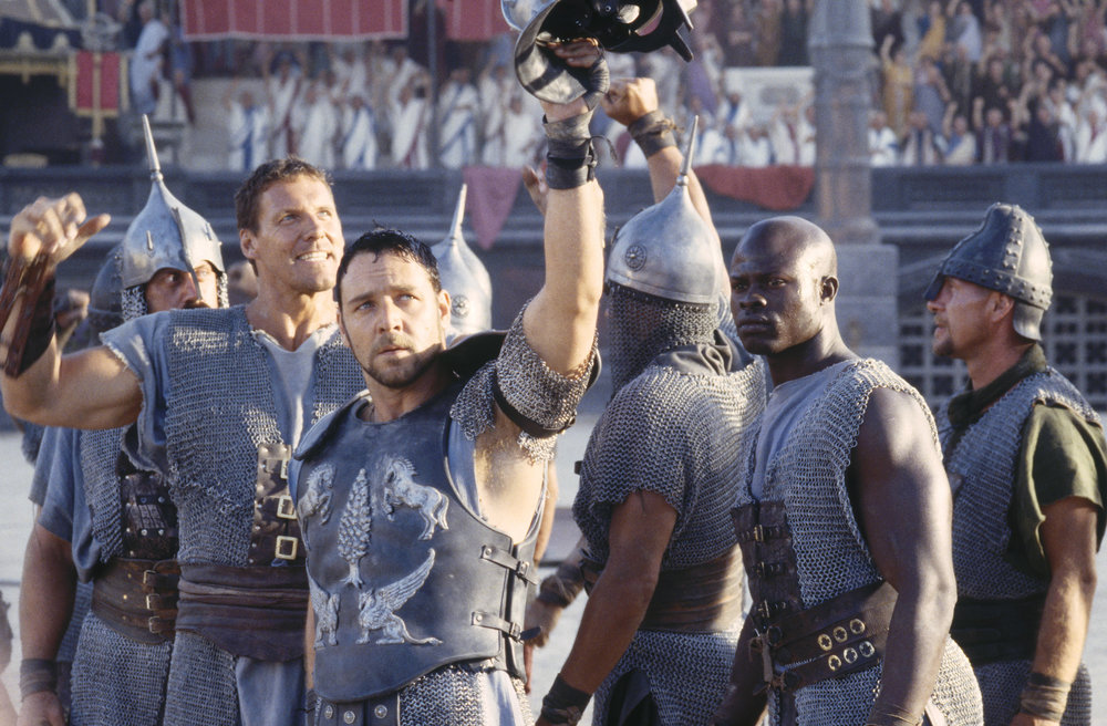 "High School teachers can debate the historical accuracy all they want, ""Gladiator"" is a grand adventure that never fails to inspire with a killer soundtrack and a powerhouse cast."
