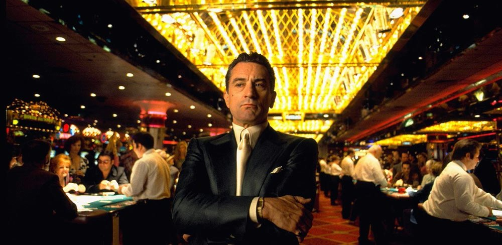 "Scorcese? Check. De Niro? Check. Pesci? Check. ""Casino"" would break the top 50 if a similar film weren't just a little better..."