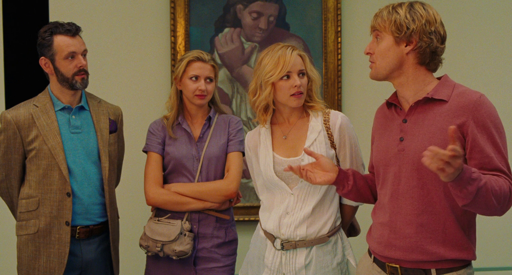 """Midnight in Paris"" is always a joy to watch because of its consistent, witty dialogue, an innovative plot, and a completely satisfying ending. Owen Wilson is a national treasure!"