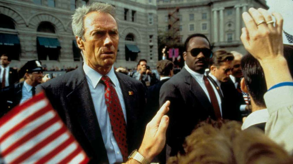"Featuring an all-star matchup of Clint Eastwood and John Malkovich ""In the Line of Fire"" is a riveting assassination thriller set in Washington, D.C."