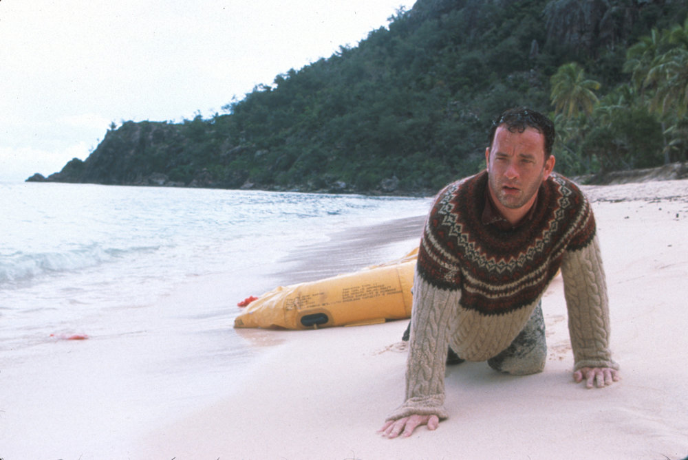TLR: This movie excels as a simple island-survival adventure.  What makes it an all-time great is its message about overcoming life's most difficult challenges by holding on to hope, as well as a stellar performance from Tom Hanks.