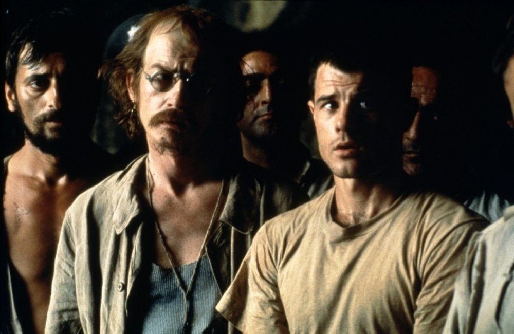 "TLR: Inspired by the true story of Billy Hayes, an Aerican college student sentenced to 30 years in a Turkish rison for drug smuggling, ""Midnight Express"" is a disturbing, yet unforgettable film."