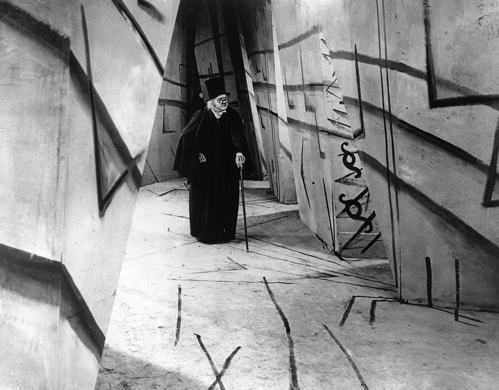 "TWL: In truth, I first watched the 1920 West German expressionist ""Caligari"" because of a funny skit on ""Portlandia"". After getting used to the inter-titles and bizarre cinematography, what I found was a mind-bending, thrilling horror masterpiece."