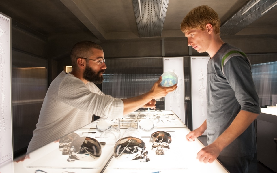 "TLR: Low-budget, trim in length, and low-key overall, ""Ex Machina"" is a film that thrives on the strength of its ideas. This is the best film I have seen in theaters in the past five years, and begs for more and more relevance as complex AI becomes a reality."