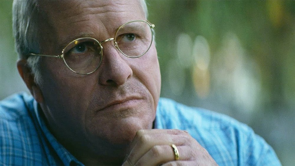 """Reviewed in full earlier on Op-Rob, """"Vice"""" is perhaps worth watching for Bale's masterful transformation into former VP Dick Cheney, but ultimately amounts to a jittery film meant to deliver leftist jeers at former Republican administrations."""