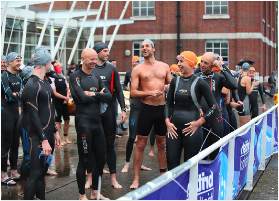 Entrants for the Capital Tri 'Fix' Splash and Dash