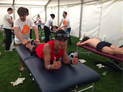 race day massage