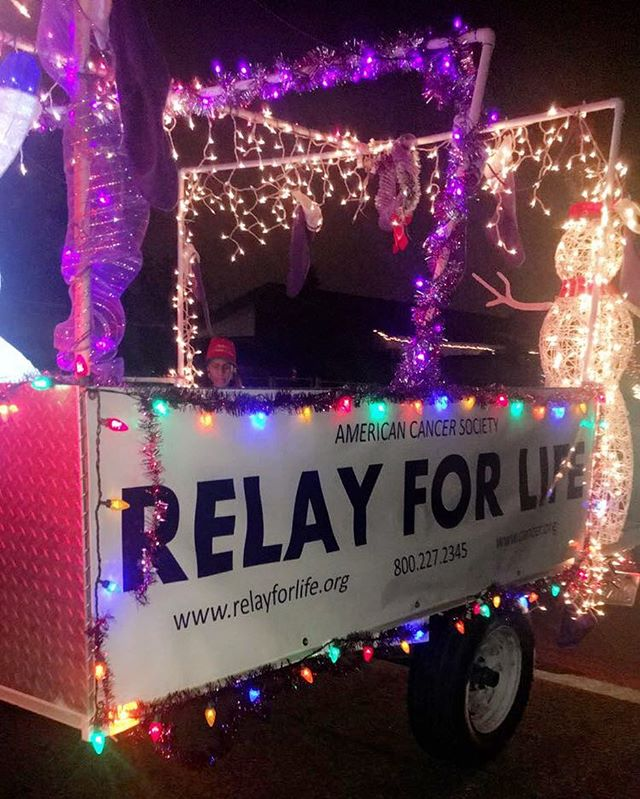Thank you Relay for Life! #relayforlife #jvaaf #fightcancer #jurupavalleyadoptafamily #santaexpress2016
