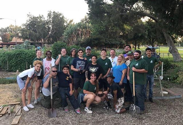 We are at it again! Join the Jurupa Valley Adopt a Family tomorrow night 6:00pm-8:00pm as we try and finish the clean up phase of our garden project with the senior citizens at Country Village Senior Apartments. Make sure to bring your gloves! See you all tomorrow! #JVAAF #Volunteer #SeniorAssistance #CommunityGarden #JurupaValley