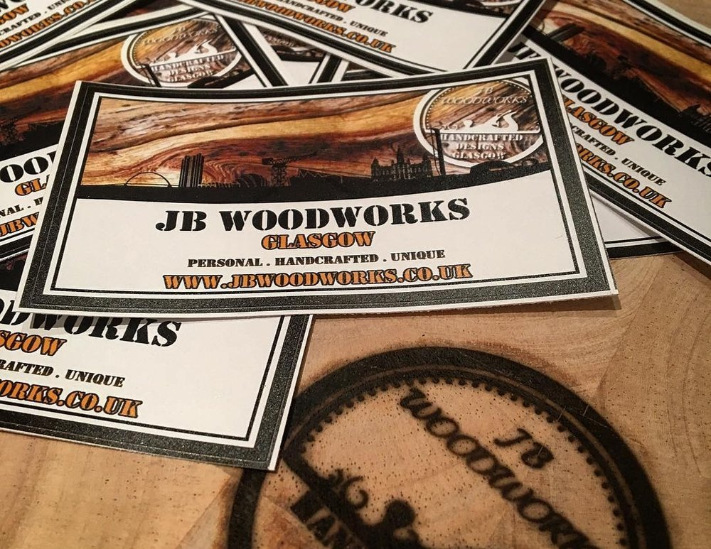 send me an email if you are interested in a sticker swap!  info@jbwoodworks.co.uk