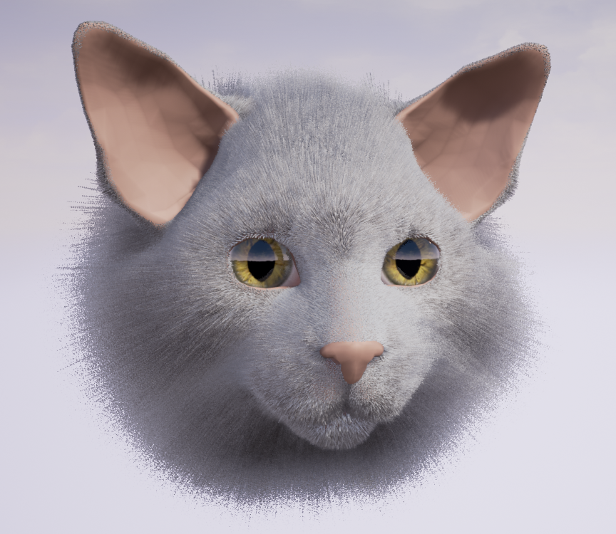 The kitty uncanny valley is less detectable to humans, making creating virtual cats slightly less freaky than virtual human characters. Although it may disturb cats?