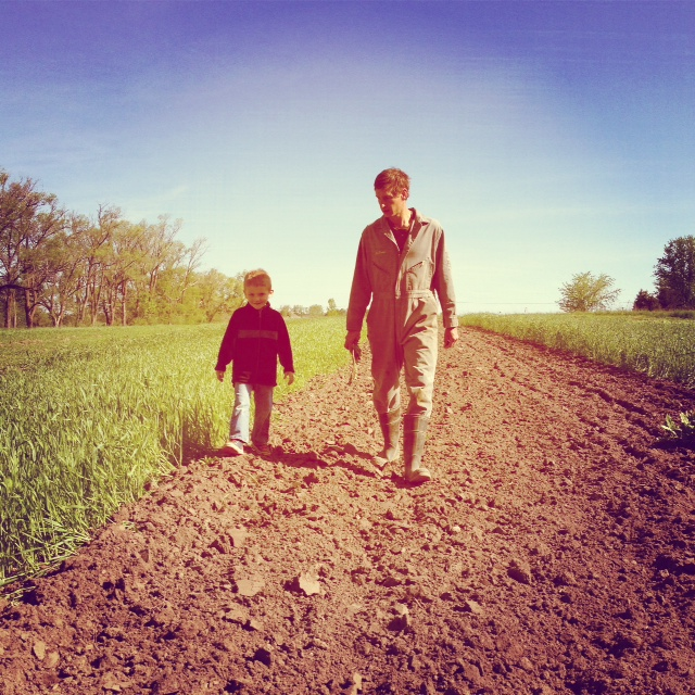 sometimes farming means walking through the field with your nephew, looking for the important part that fell off your tractor, until nephew informs you that it is time to go for a bike ride. sometimes nephews know just what to say to get uncles to stop working. magic words…..bike.ride.