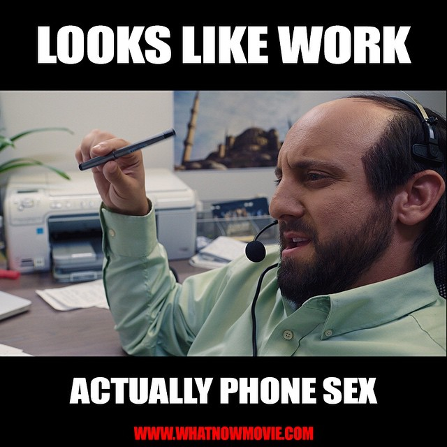 Working hard this #HumpDay, or hardly working? #WhatNowMovie #SumerianFilms