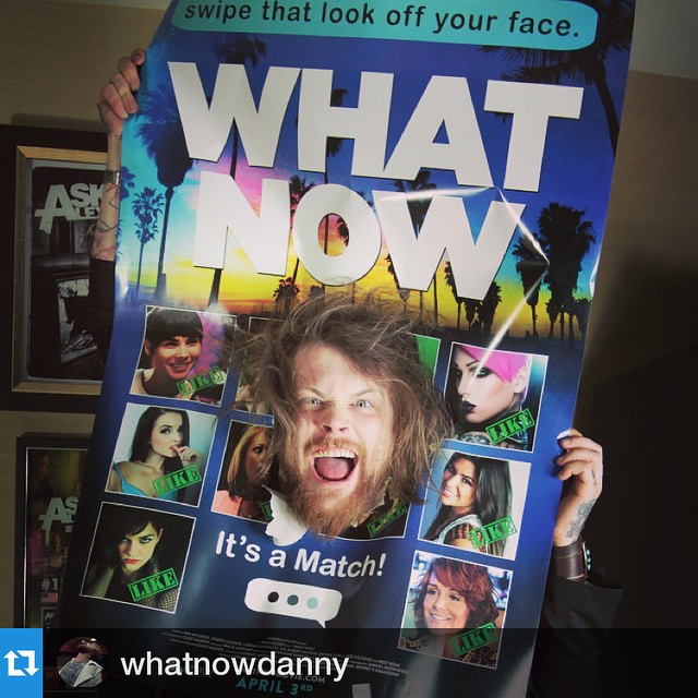 Repost from @whatnowdanny! #ThirdTimesTheCharm・・・USA Let's go! My new movie is on iTunes, GooglePlay, Cable On Demand, XBox/PlayStation and everywhere else. Trailer link in my bio! #WhatNowMovie #ImLookingForAMatch #SwipeMeRightDarling