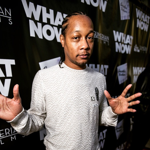 #TBT - #DJQuik arriving to the world premiere of #WhatNowMovie in Beverly Hills.  What did you all think of his scene? #SumerianFilms