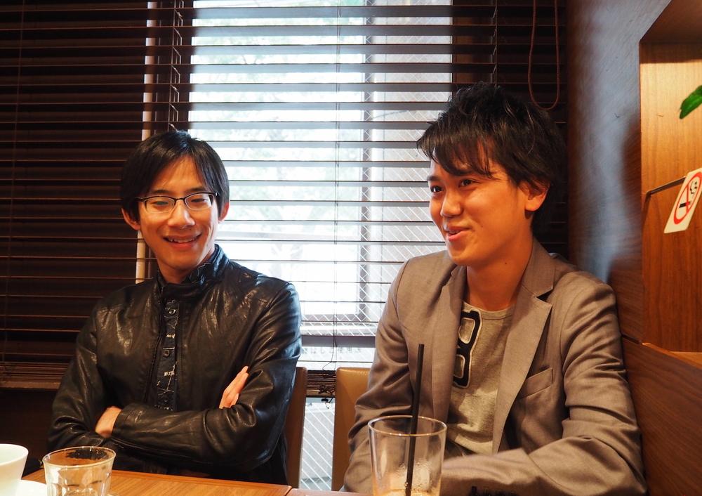 左:上野耕平さん。右:中山拓海さん。