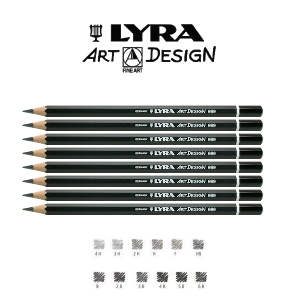 Lyra Rembrandt Pencils