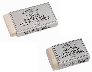 Kneaded Putty Rubbers