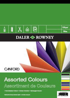 Canford Coloured Paper Pads