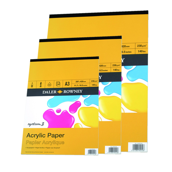 Acrylic Paper Pads
