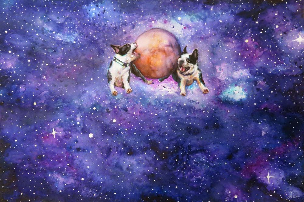 Hey Pluto, Wanna Play?