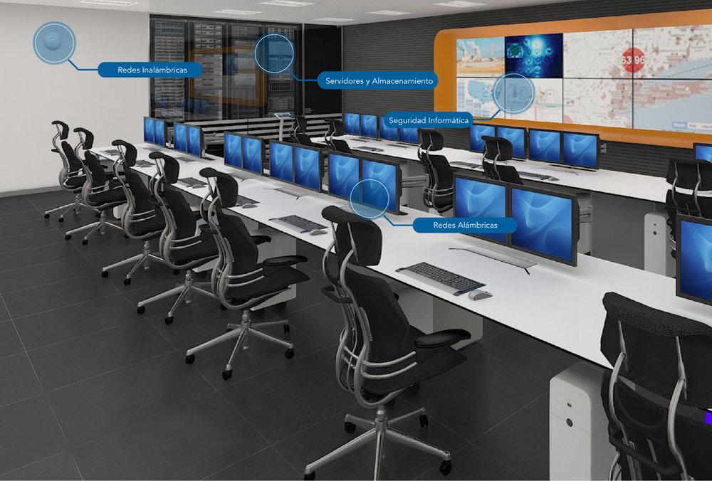 Redes de Datos - Las redes de datos se han convertido en los cimientos de las comunicaciones globales. En la actualidad las nuevas expectativas, respecto de las abundantes capacidades de infraestructura y las operaciones en entornos de alta seguridad y sin fallas, suponen un reto sin precedentes para los profesionales que se desempeñan en tecnología de redes.- Red alámbrica- Red inalámbrica- Servidores y Almacenamiento- Seguridad InformáticaMarcas líderes que representamos:- EXTREME NETWORKS-FORTINET- DELL-CISCO-HUAWEIContamos con nivel de Partnership, certificaciones y amplia experiencia para su implementación.