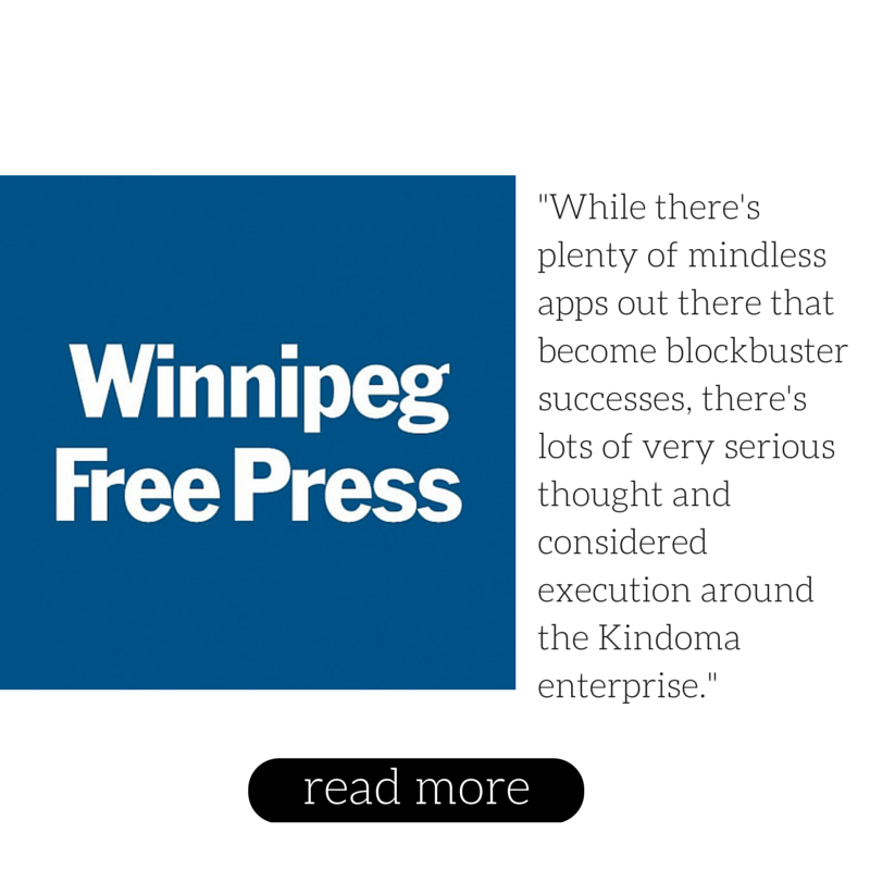 Winnipeg Free Press April 2015