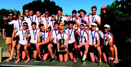 Men's Varsity 8+ Top Row L-R: Head Men's Coach Brian DeRegt, Daniel Hogan (De La Salle High School/Lafayette resident), Rhys Daniel (Piedmont High School), Alex Lilichenko (Miramonte High School), Michael Cuellar (St. Joseph Notre Dame High School), Kenyon Watson (Miramonte High School), Cameron Chater (Berkeley High School), Tucker Johnson (Piedmont High School), Max McDonald (Piedmont High School), Connor Olson (Granada High School), Men's Coach Alan Kush Men's JV 8+ Bottom Row L-R: Luke Lawler (Las Lomas High School), Allen Hosler (Piedmont High School), Henri Illien (The Phillips Academy/Berkeley resident), Brandon Fluegge (Miramonte High School), Isabella Onken (St. Joseph Notre Dame High School), Cole Ortiz (Campolindo High School), Sam Thatcher (Piedmont High School), Jackson Witherspoon (St. Joseph Notre Dame High School), Brendan Purtill (Bentley High School) Photographer: Barbara Wright  barbarawright979@gmail.com Coach: Brian DeRegt