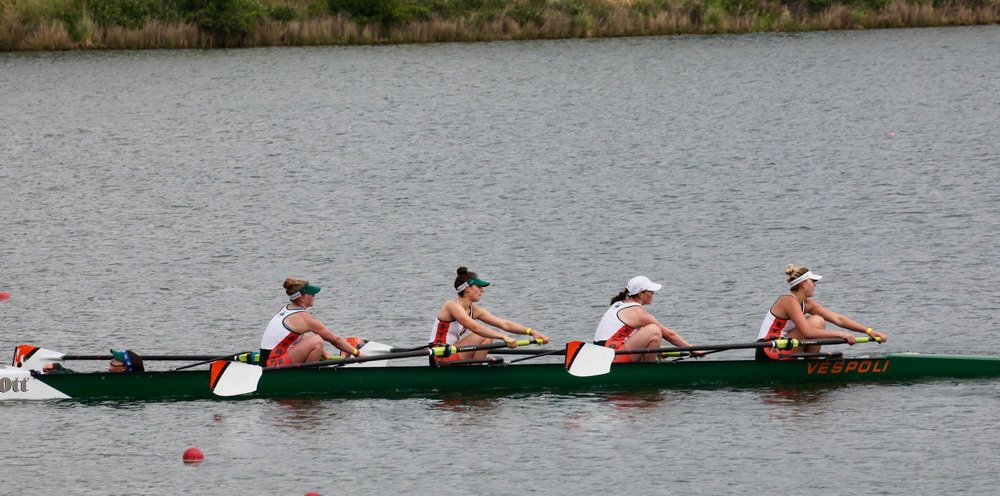 Women win Novice 4+ gold medal