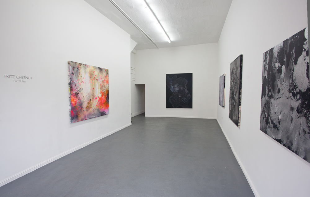 Purr Valley,  Installation view, cult, aimee friberg exhibitions, 2014
