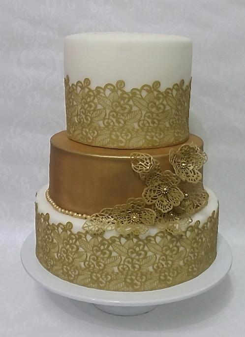 Elegant Wedding Lace Cake.jpg
