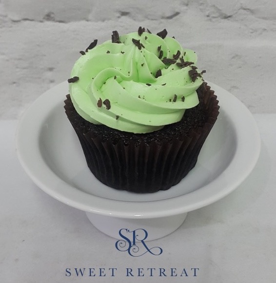 15. Chocolate Mint with Mint Flavour Buttecream - 95 baht
