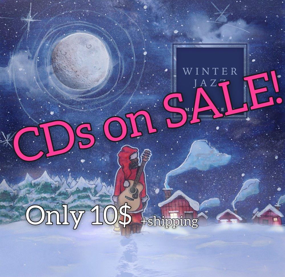 CDs on SALE pic.JPG