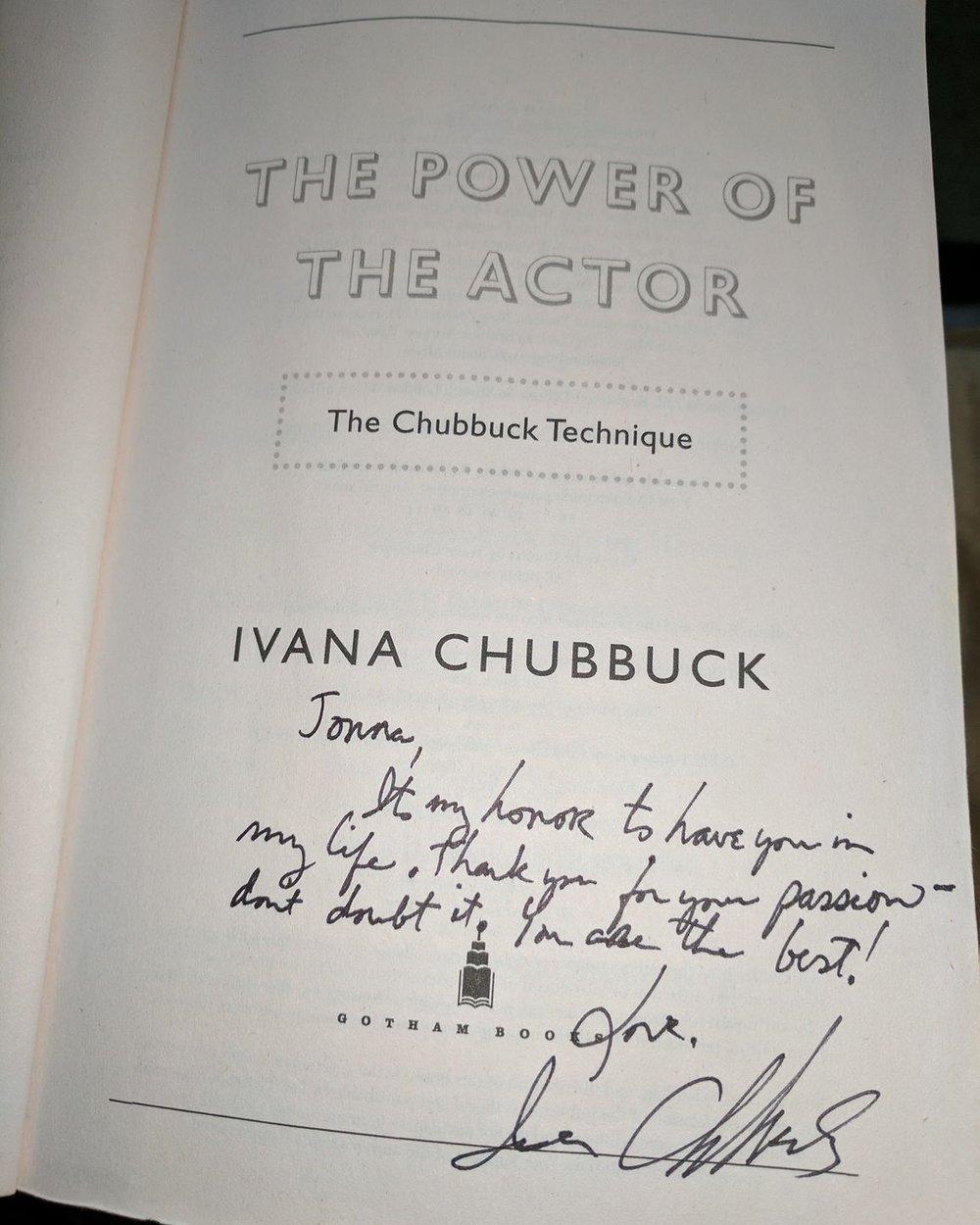 Ivana Chubbuck Book Signed.jpg