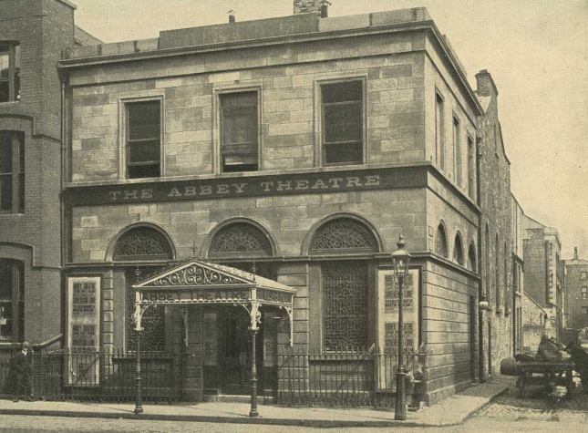 The Abbey Theatre, Dublin.