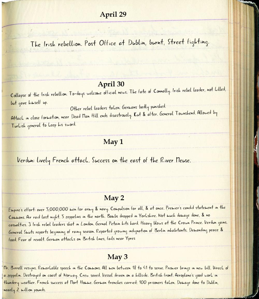 Diary Of J.C. Strange