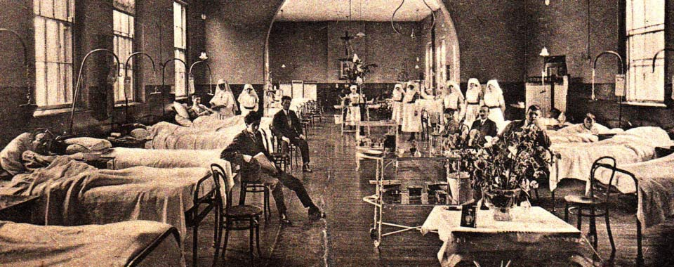 St. Vincent's Hospital Dublin, in the early 20th Century.