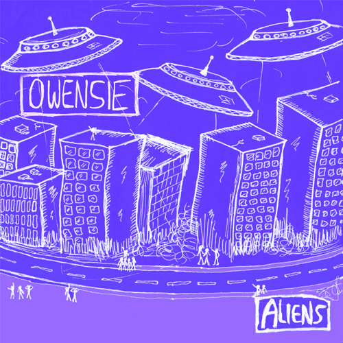 Owensie's 2011 album 'Aliens', which features the song 'Tied to a name'